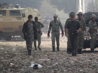 Egypt protesters in standoff with military rulers – Wednesday 23 November