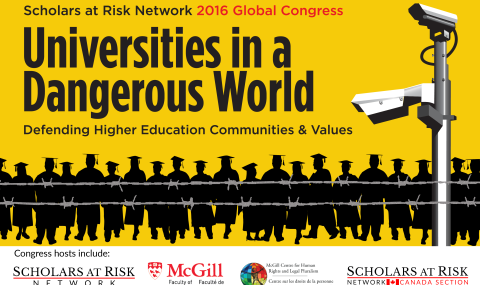 Scholars At Risk 2016 Global Congress Keynote